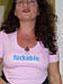 fuckable feminist T-shirt