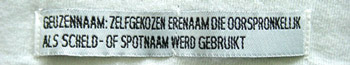 geuzennaam label